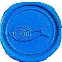 Vintage Snail Picture Logo Wedding Invitation Wax Seal Sealing Stamp Spoon Sticks Candles Gift Box Set