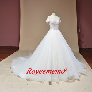 Image 3 - 2019 new design Wedding Dress A line skirt Bridal gown custom made wedding gown factory directly wholesale price bridal dress