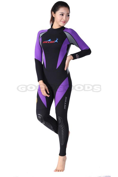 17aafc0f8a Free Shipping 1.5mm Submersible and long sleeve swimsuit Surfing Suit  Sunscreen Pants Snorkel Clothing Wetsuit Diving Suit-in Wetsuit from Sports  ...