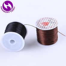 Cord-Thread Weaving String Stretch Elastic Brown Black Hair--Making for Jewelry Bracelets