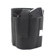 Concealed Carry Ankle Holster Elastic Secure Strap gun case holder Fit Glock For Medium Small Pistols