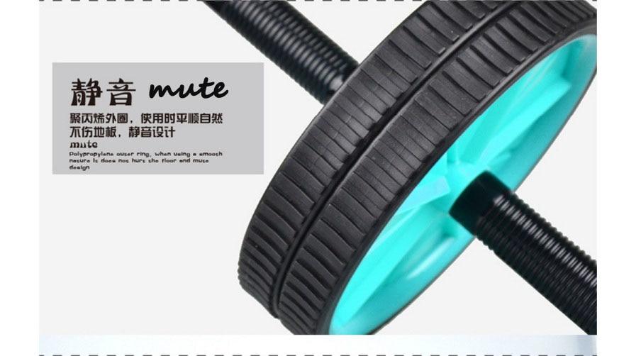 Zweirädriges AB-Radbauchrad rollt Eignungsausrüstungshaus - Fitness und Bodybuilding - Foto 3