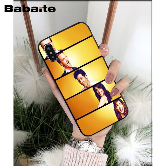 Babaite how i met your mother himym Novelty Fundas Phone Case Cover for iPhone X XS MAX  6 6s 7 7plus 8 8Plus 5 5S SE XR
