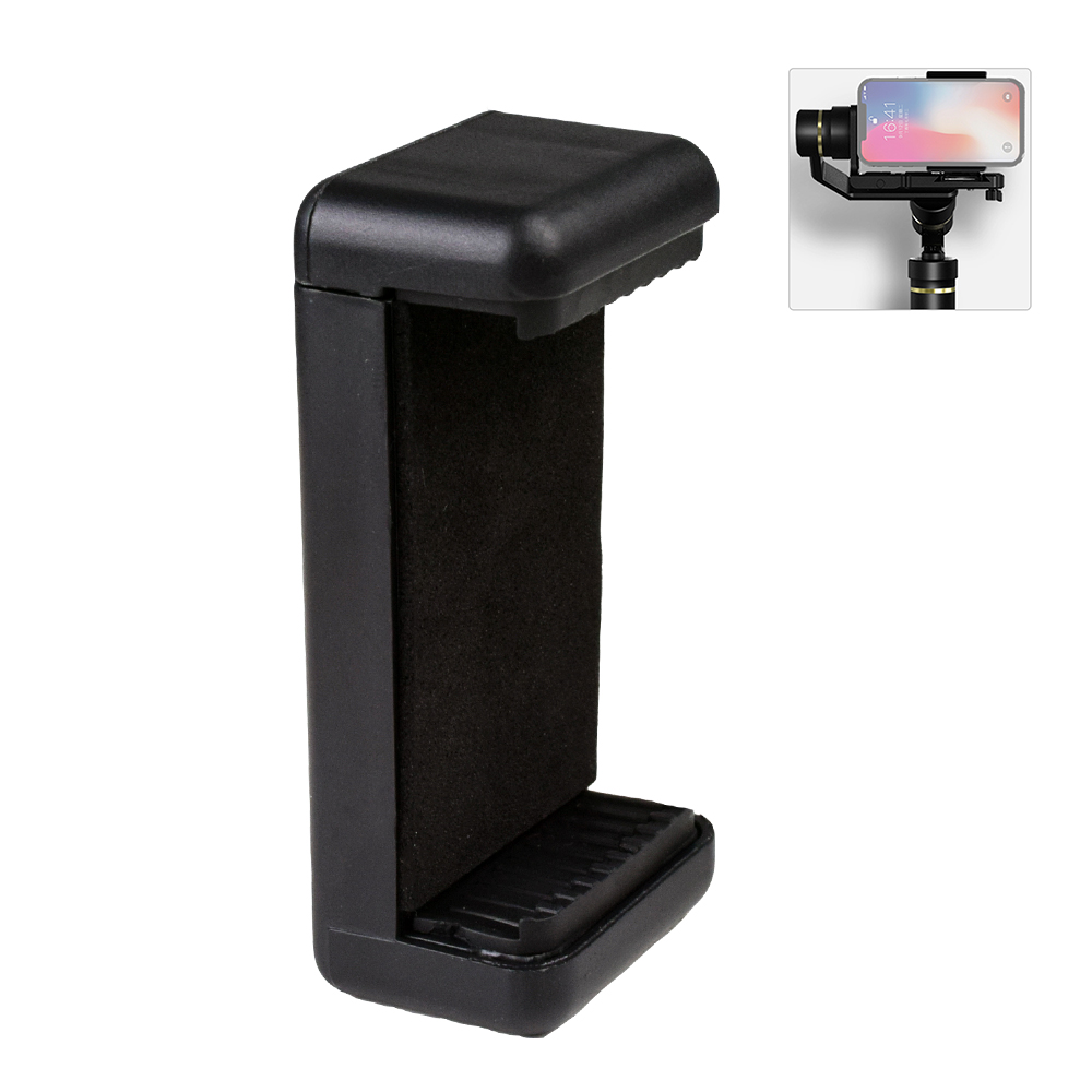 Smartphone Holder Clamp Stand Mount Adapter for Feiyu G6P Gimbal 3.5 to 6 Cell Phone Mobile PhoneSmartphone Holder Clamp Stand Mount Adapter for Feiyu G6P Gimbal 3.5 to 6 Cell Phone Mobile Phone
