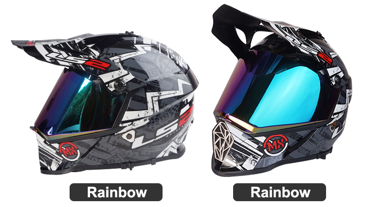 lower price with sale online shoes for cheap Original Visor for LS2 MX436 Motocross helmet high quality dual ...