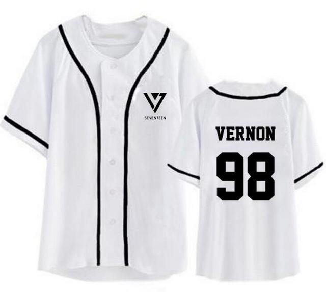 SEVENTEEN Band Member Baseball Jersey