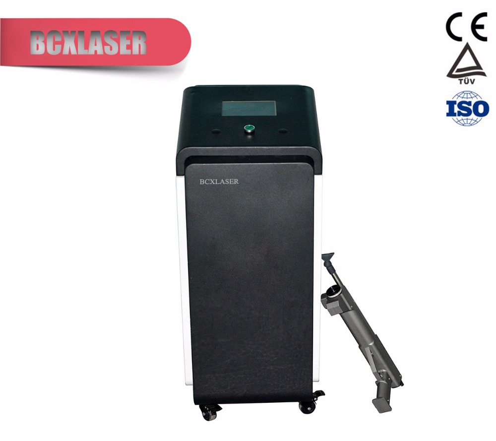 WuHan BCXlaser 100W laser cleaning machine for high speed removal rust oil machine