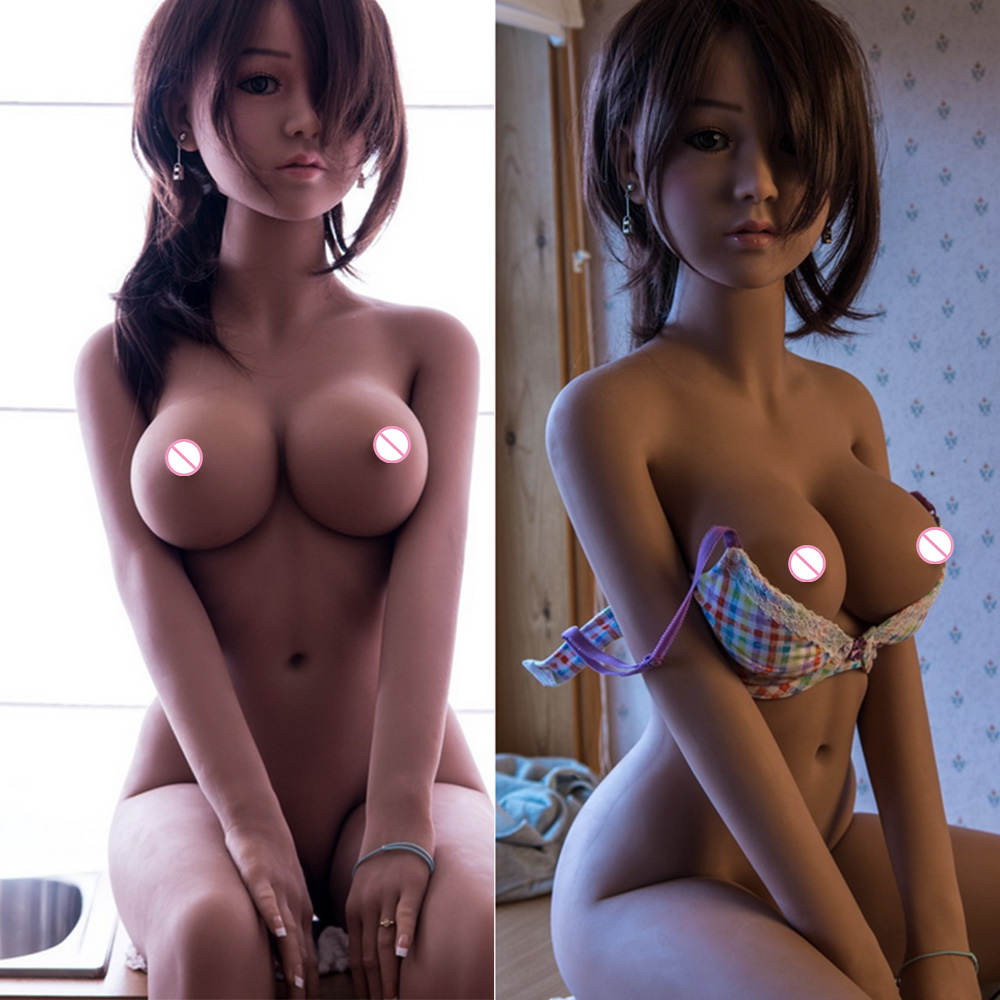 <font><b>140cm</b></font> 4.7feet <font><b>Sex</b></font> <font><b>Dolls</b></font> Real Adult Life Big Breast Vagina <font><b>Sex</b></font> Toys for Men <font><b>Tpe</b></font> <font><b>Dolls</b></font>, Full Size Silicone with Skeleton Love <font><b>Doll</b></font> image