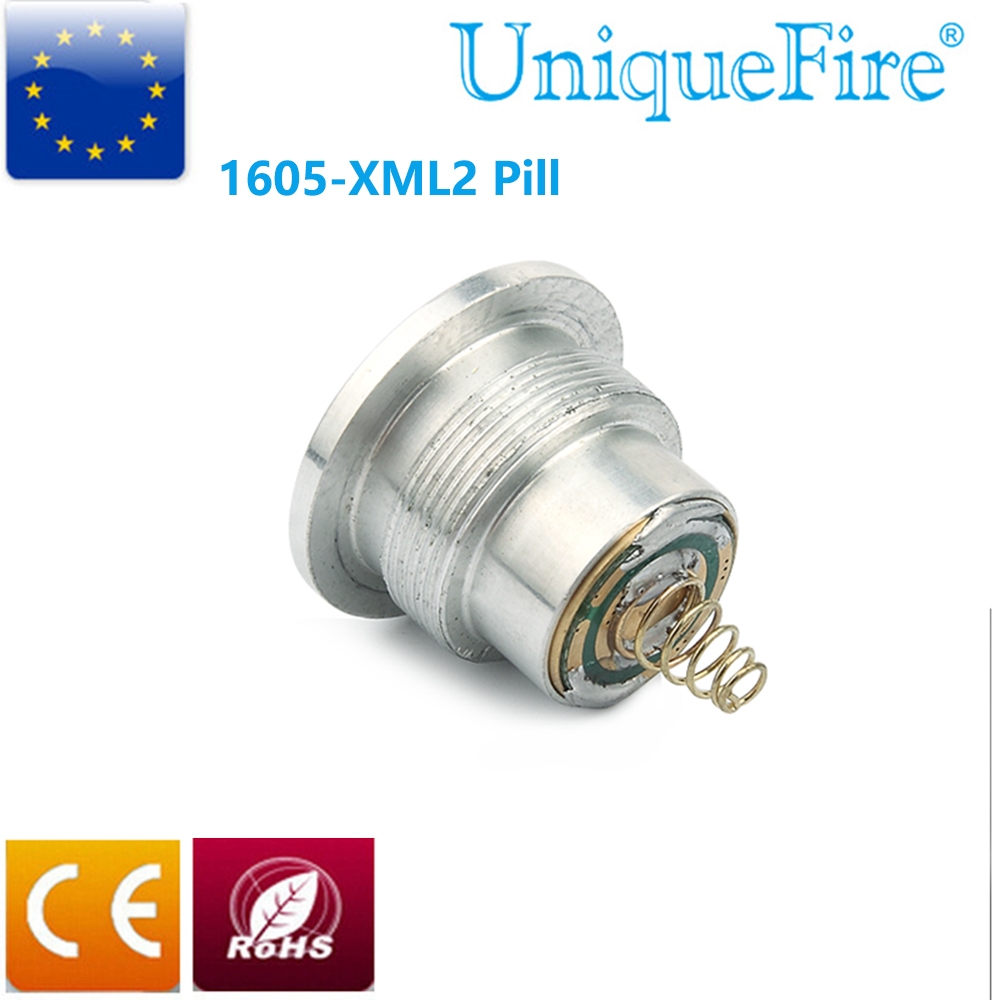 Uniquefire 1605 Cree Xml T6 Xm L2 Led Drop In Pill 5 Mode Operating