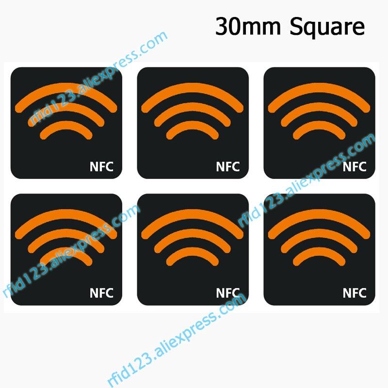 NFC Ntag213 TAG Sticker 13.56MHz NTAG 213 Universal Label RFID Key With 144 Bytes Memory