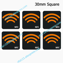 NFC Ntag213 TAG naklejka 13.56MHz NTAG 213 uniwersalna etykieta klucz RFID z pamięcią 144 bajtów