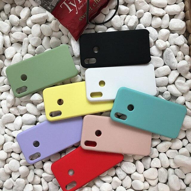 Funda de silicona de estilo oficial para Xiaomi mi 9 mi 8 lite se mi 6X funda Original para mi X 3 2 S rojo mi nota 6 7 Pro mi A2 teléfono caso