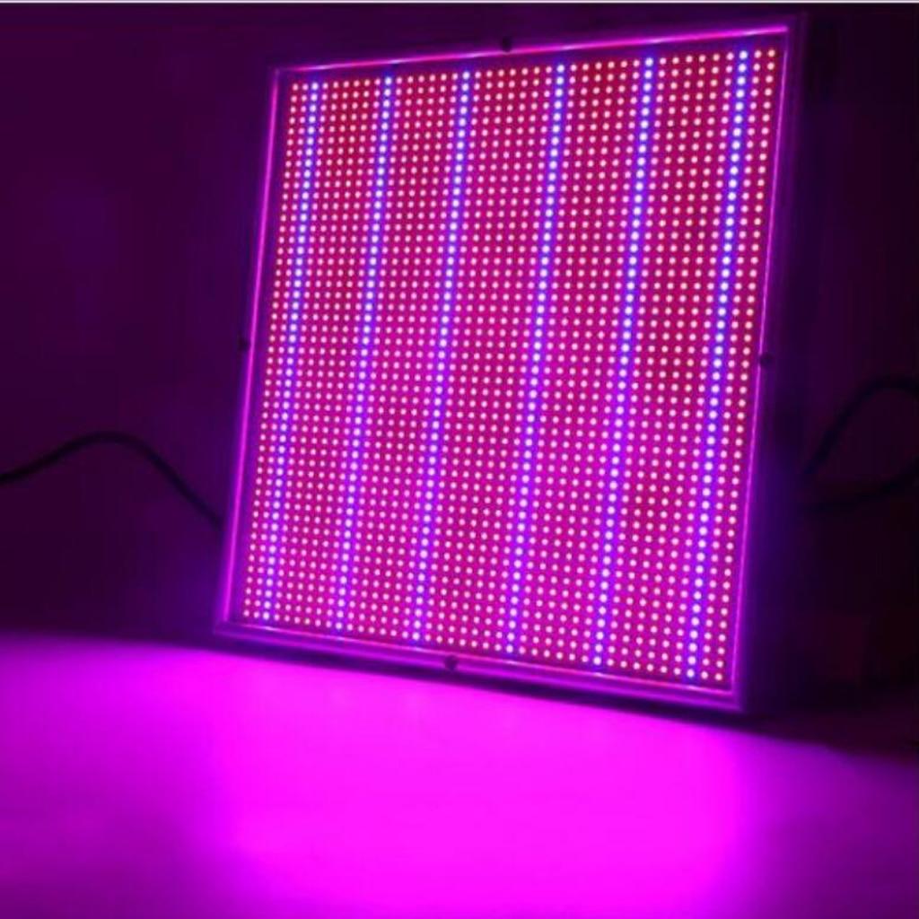 120 W 1365 LED plante poussent la lumière à spectre complet à effet de serre intérieur hydroponique