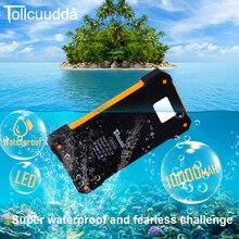 Cnpower оригинальный tollcuudda DYHK01 Солнечный Мощность Bank 10000 мАч Зарядное устройство повербанк Каррегадор Батарея для iPhone 6 LJJ629