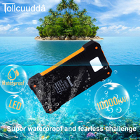 CNPOWER Original Tollcuudda DYHK01 Solar Power Bank 10000MAH Charger Poverbank Carregador Battery For IPhone 6 LJJ629