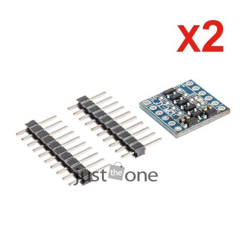wholesale 2 pcs lot  5V-3V IIC UART SPI Wire Level Conversion Level Adapter 4 Curved Pin For Arduino 57