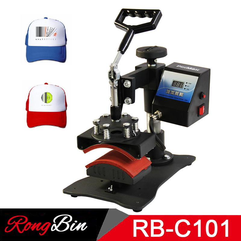 Cap Heat Press Machine Digital Swing Away Heat Press for Caps Hat Heat Press Print Sublimation Personalised Baseball Snapback 1pc 6in1 30 38cm t shirt swing away heat press machine shaking head heat transfer sublimation machine