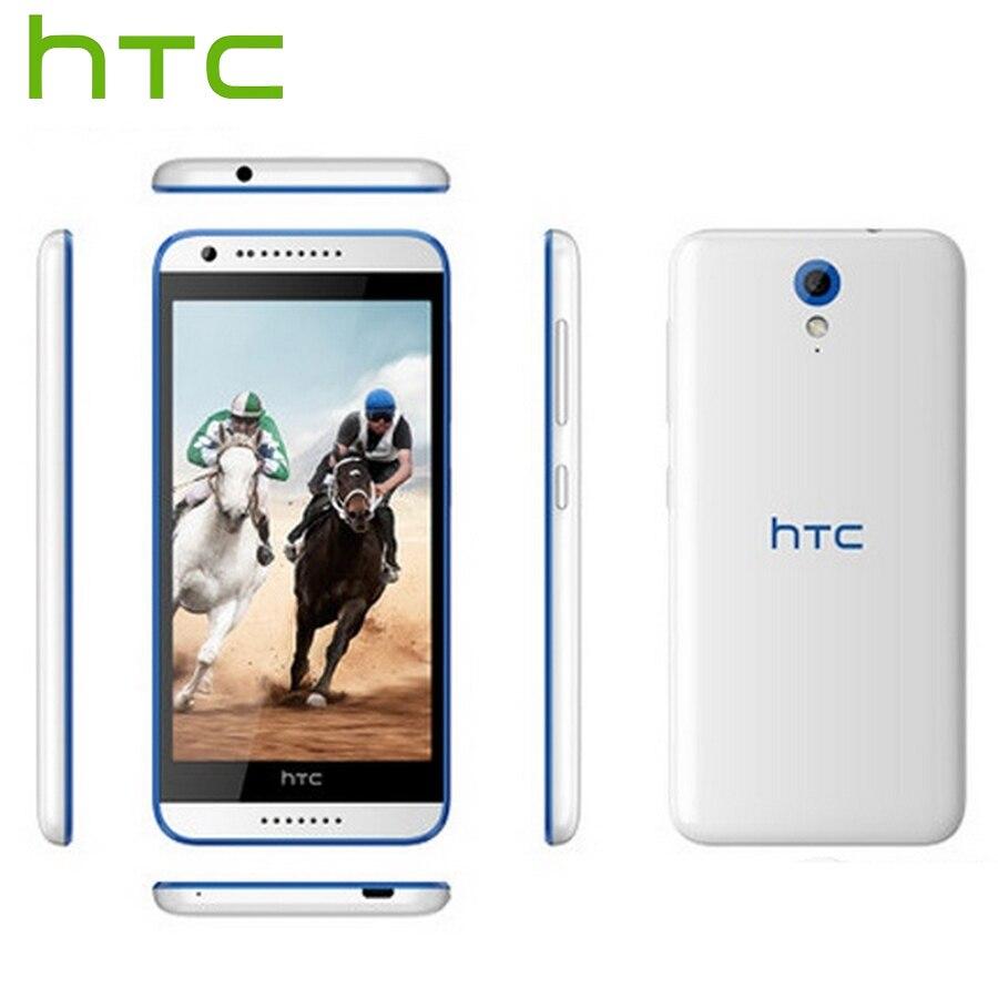 Tout nouveau HTC Desire 820 mini D820mu 4G LTE téléphone Mobile 5.0 pouces Quad Core 1.2 GHz 1 GB RAM 8 GB ROM 8.0 MP Android téléphone intelligent