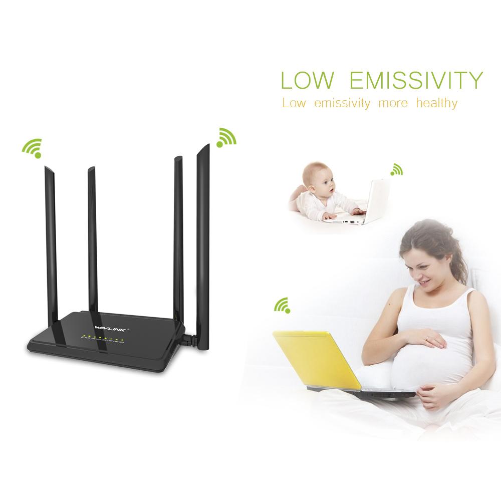 Prix pour 1200mbs wifi répéteur/routeur/ap dual band ac1200 sans fil range extender wifi amplificateur 2.4g/5 ghz externe antennes 5dbi wavlink