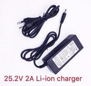 Image 2 - Colaier batería recargable para navegador GPS, coche de Golf, bicicleta eléctrica, 25,2 V, 24V, 2Ah, 6S1P, 18650 V, 2000mAh
