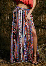 9ed6d37fc8db Floral Maxi Skirt-Kaufen billigFloral Maxi Skirt Partien aus China ...