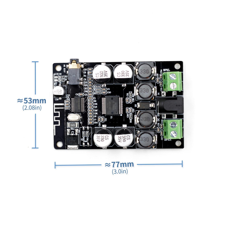 VHM-307 TDA7492P Bluetooth приемник усилитель аудио доска 25 Вт * 2 колонки Модифицированная музыка мини усилители Diy двухканальный