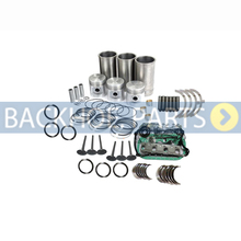 Overhaul Rebuild Kit for Yanmar 3T84HL 3T84HA 3T84HLE 3T84HTLE-TBS Engine Takeuchi TB035 TB025 Excavator