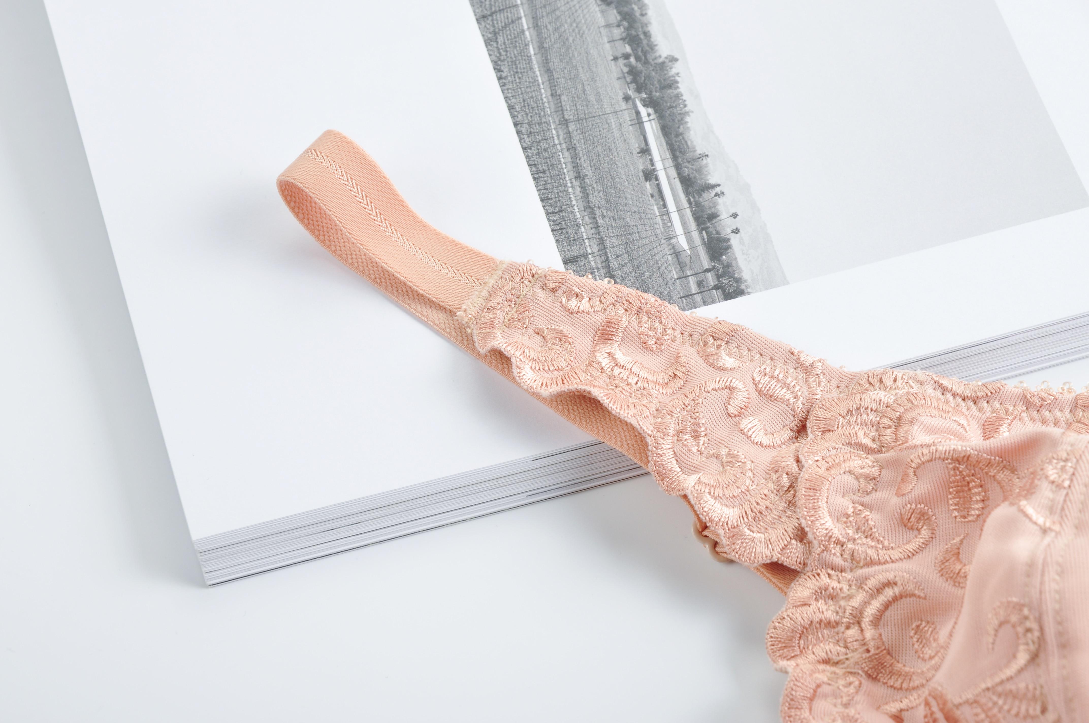 Бюстгальтер-минимайзер с цветочной вышивкой на косточках с полным покрытием 34 36 38 40 42 C-F