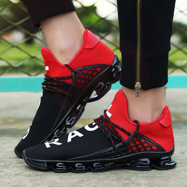 Man Running Shoes For Men Unisex Trends Run Athletic Trainers Black Zapatillas Sports Shoe Women Outdoor Sneakers