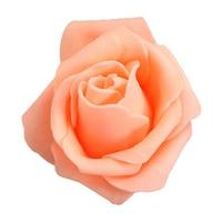 Wholesale 5* 100PCS Foam Rose Flower Bud Wedding Party Decorations Artificial Flower Diy Craft champagne