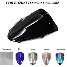 ABS Windscreen For Suzuki TL1000R TL 1000R 1998 1999 2000 2001 2002 Motorcycle Windshield Wind Deflectors
