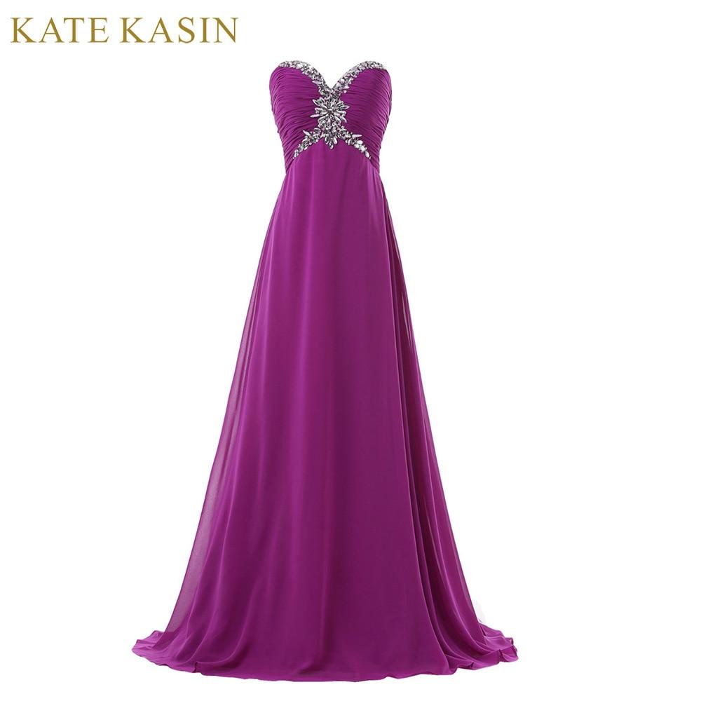 Long Purple Bridesmaid Dresses Picture