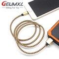 2А Быстрая Зарядка Нейлон Плетеный MFI 8Pin USB Синхронизации Данных Зарядный Кабель, Шнур Для Apple iPhone 5 5s 6 6 s 7 Plus SE Для iPad Для ios 10