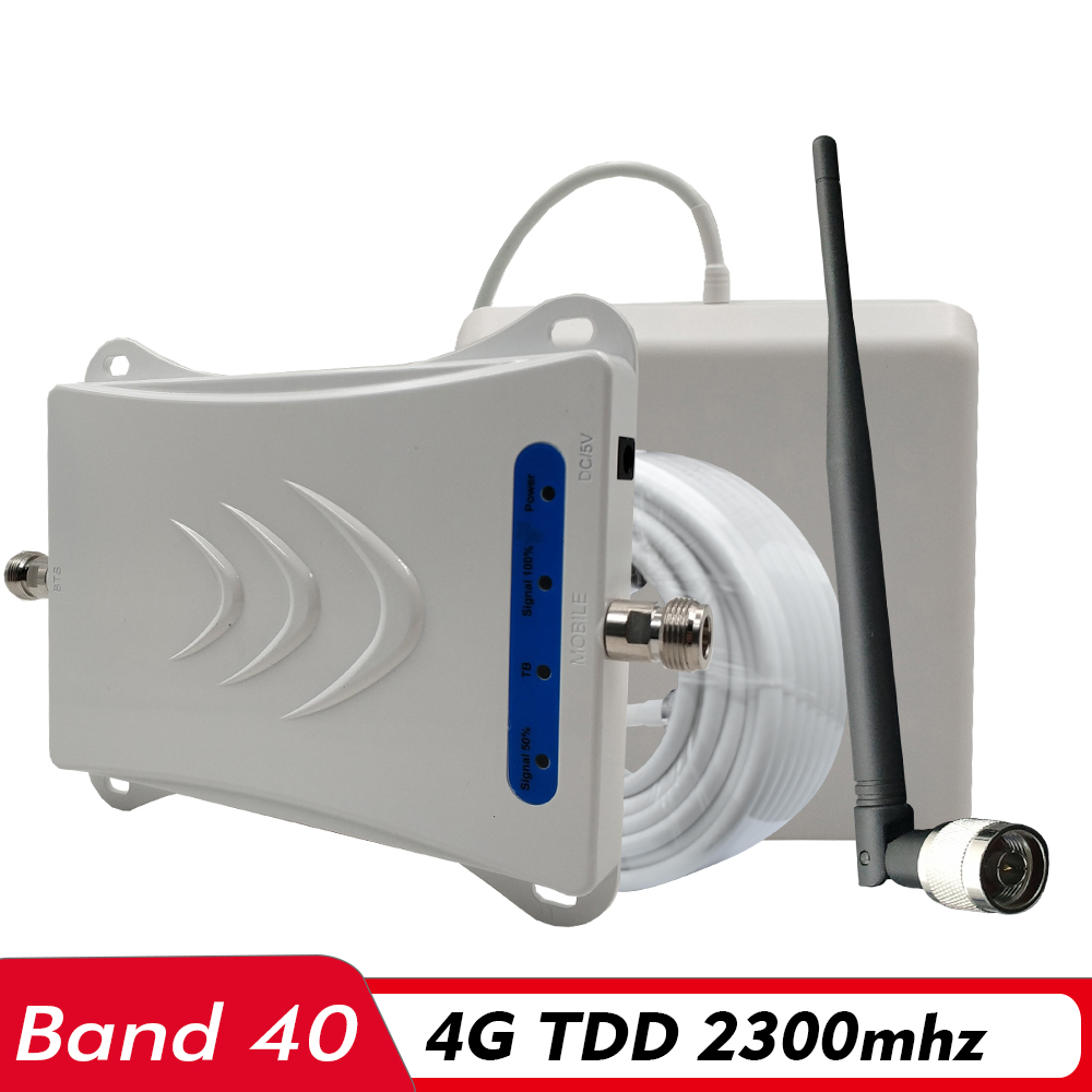4G Signal Repeater TD LTE 2300 Mobile Signal Booster (B40) TDD 2300 Cell Phone Signal Amplifier For Saudi Arabia India Indonesia