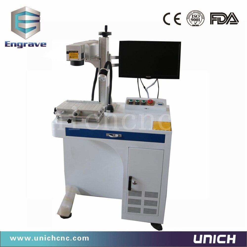 Hot sale table fiber marking machineHot sale table fiber marking machine