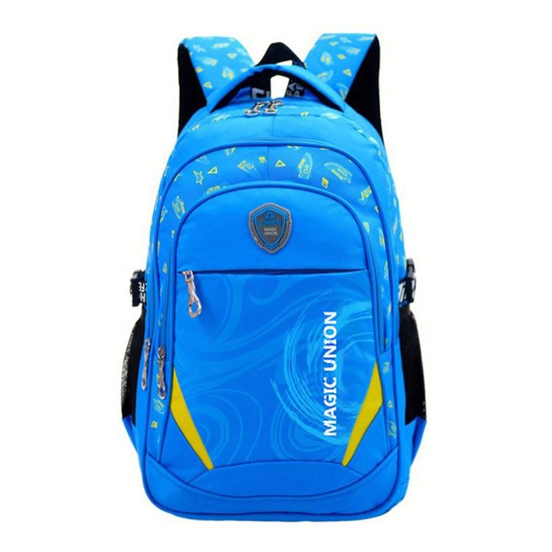 Multifunction Backpack School-Bags Printing High-Quality Children Zip Infantil Design