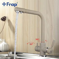 Frap New Mixer Faucets Home Kitchen Faucet Mixer Tap Cold Hot Water Taps Purification Torneiras Cozinha