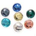 7PCS 12mm Ball Round Glass kameleon jewelPop interchangeable Jewelry Components Spacer Bead Diy Jewellery Making Materials
