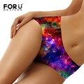 FORUDESIGNS Women's Panties Femme Slim Elastic Seamless Colorful Sexy Briefs Women Underpants Woman Knickers Ladies Underwears