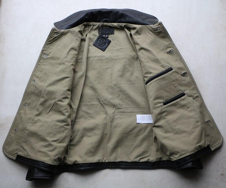 HTB1yQ ty25TBuNjSspcq6znGFXaD Free shipping,Brand men's 100% genuine leather Jackets,classic oil wax cow leather jacket,japan brakeman jacket.original