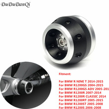 Right Rear Axle Slider for BMW R1200GS Adventure R1200 R/RT/ST/S R NINE T 2014-2015 Drive Shaft Protection Ball 100% Brand New цены онлайн