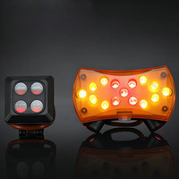 MICCGIN Bicycle Wireless Remote Control Laser Taillights USB Rechargeable Mountain Bike Safety Warning Rear Light Riding
