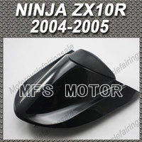 For NINJA ZX10R Motorcycle Rear Pillion All Black Injection ABS Seat Cowl Cover For Kawasaki NINJA ZX10R 2004 2005