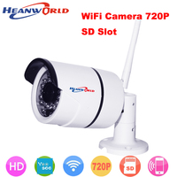 Waterproof Wireless Mini Wifi IP Camera Support Micro SD Card CCTV Webcam Network Surveillance Security Camera