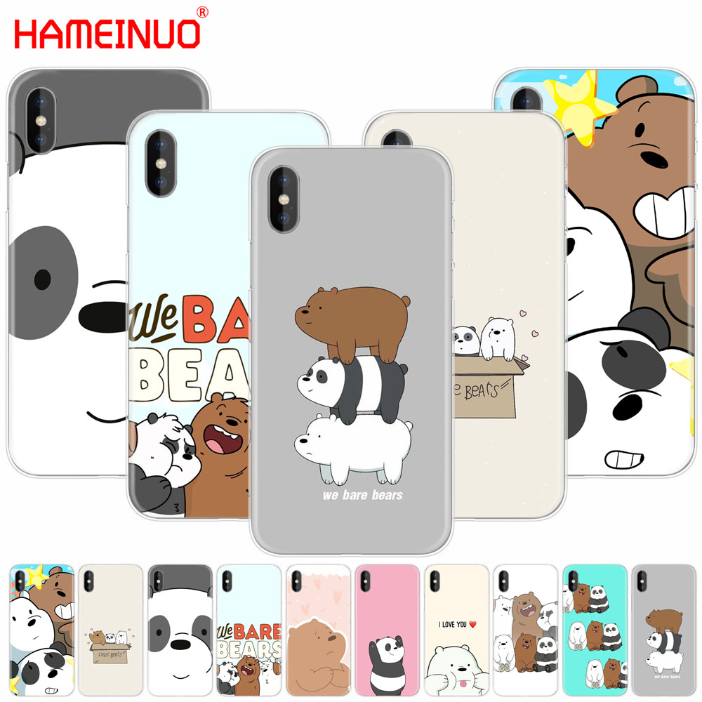 transparent hard phone case for iphone x se 5 5s 6 6s 7 8 plus