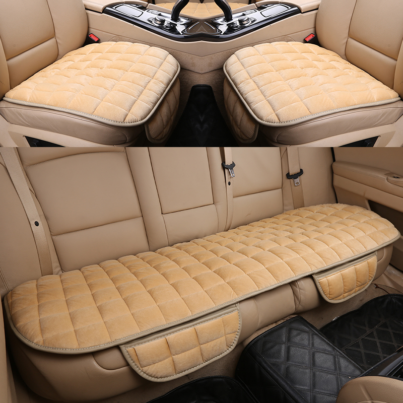 KKYSYELVA Car Seat Cover Universal Auto Front Back Seat Cushion Covers Car Chair Mat Pad Interior Accessories in Automobiles Seat Covers from Automobiles Motorcycles