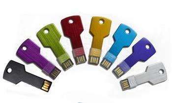 Real capacity Colorful Metal Key shape usb flash drive 4GB 8GB 16GB 32GB 64GB 128GB pen drive pendrive U disk Thumb memory stick