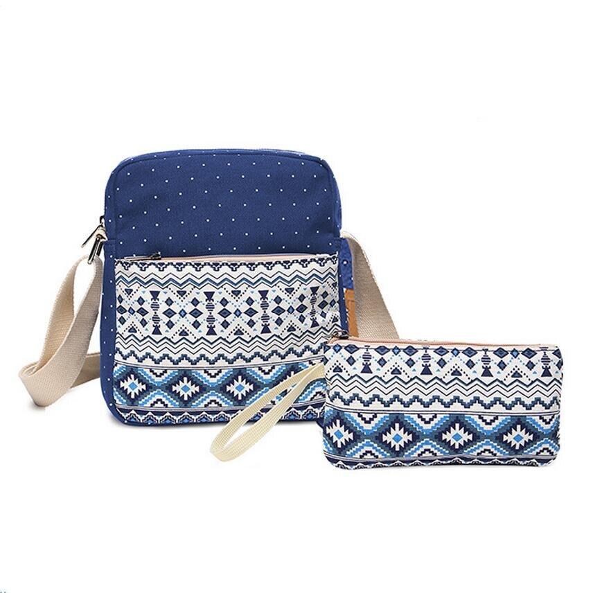 b6bf58ab787c Vintage School Bags For Girls Kids Bag Canvas Backpack Women Bagpack ...