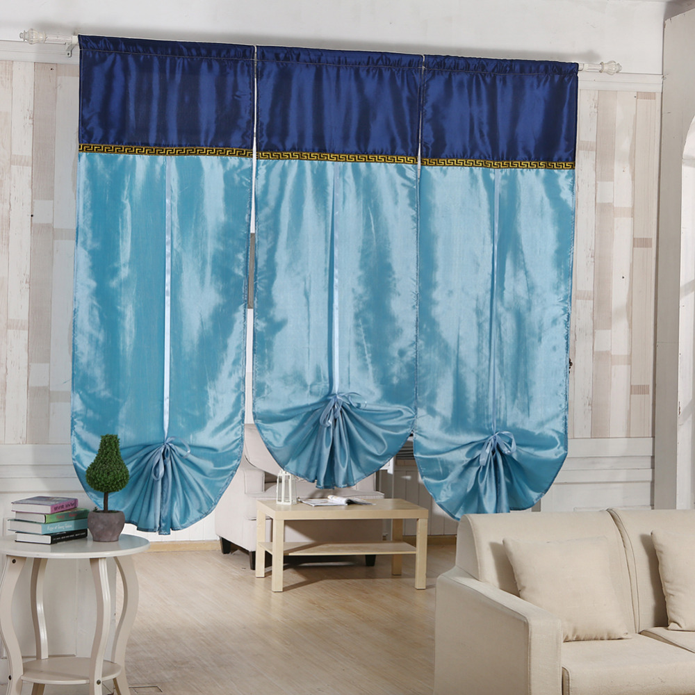 Ro Ro Roman Shade Curtain Patterns - 70 180cm window blinds curtainscrolling bohemian exotic stitching roman enetian blinds curtain finished curtains lift