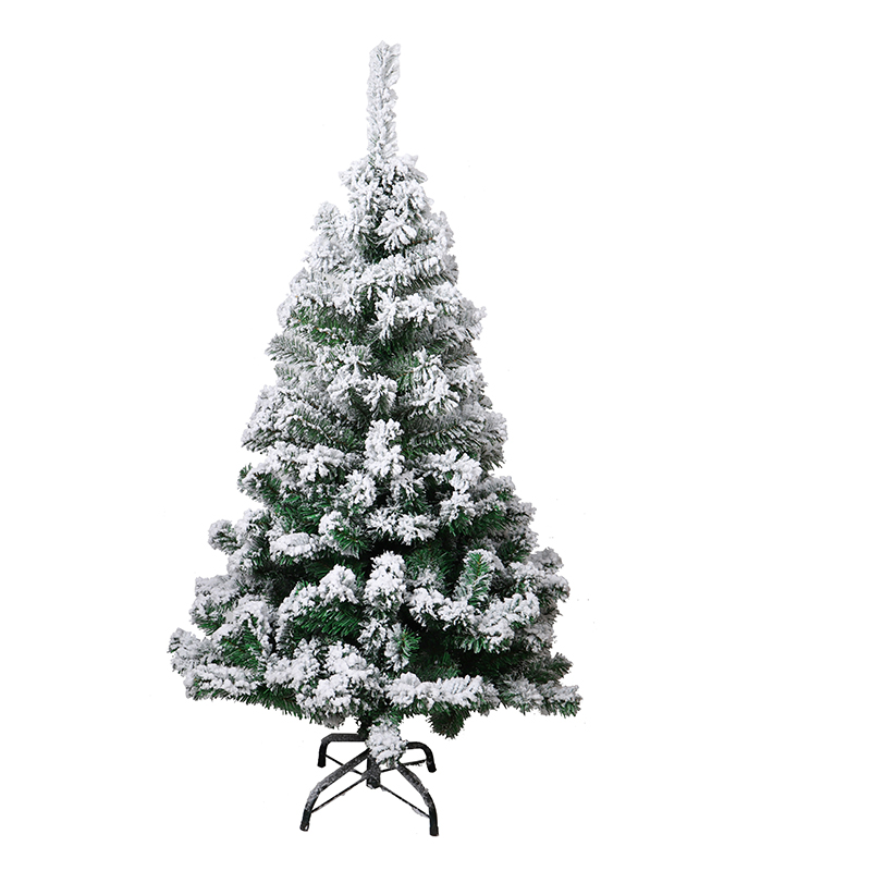 HOYVJOY PVC 1 8m Christmas Tree with Snow Decorations Naked Tree Christmas Day PE PVC Mixed Leaves Christmas Tree Ornaments in Trees from Home Garden